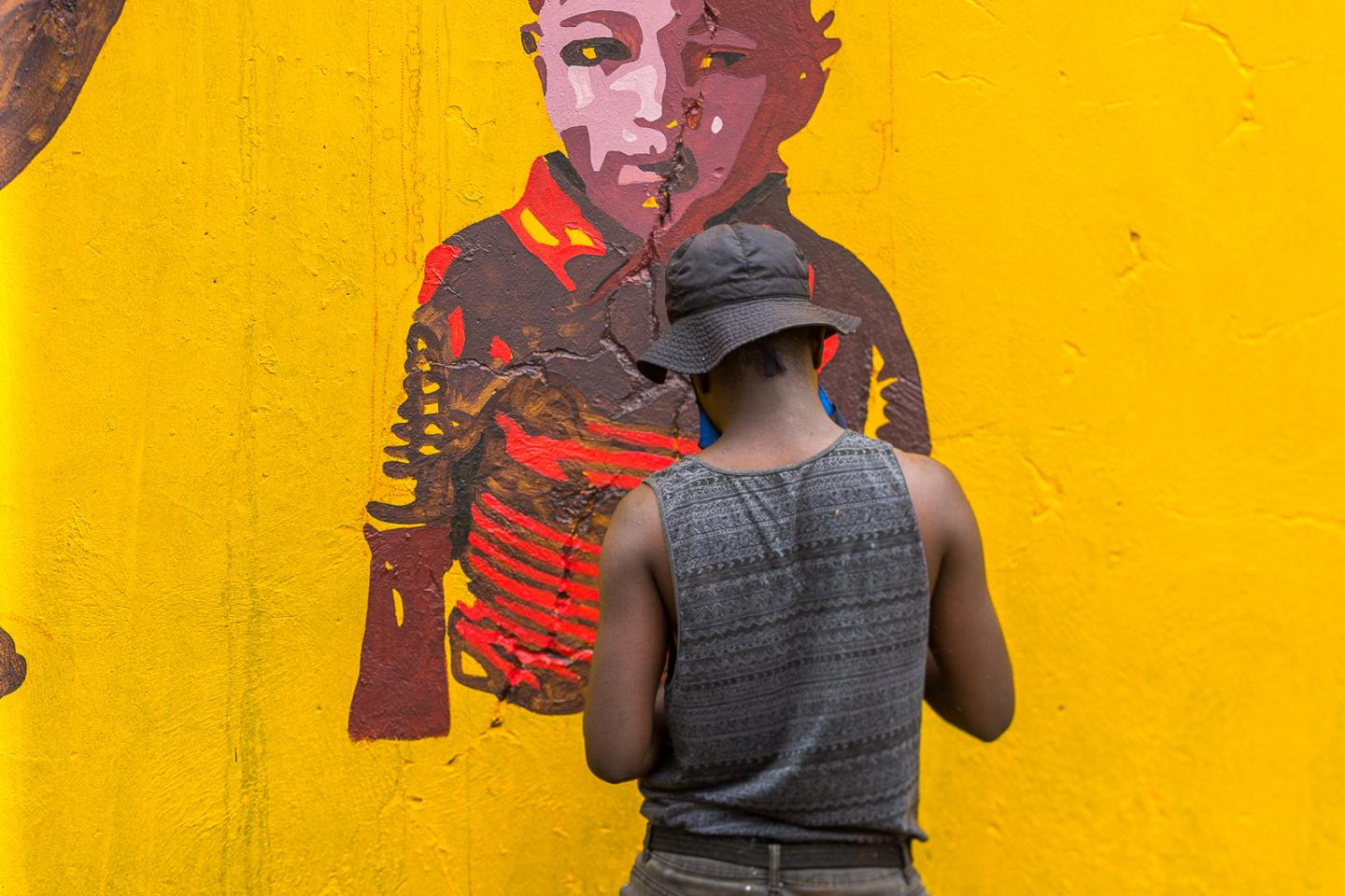 spreading health messages through art