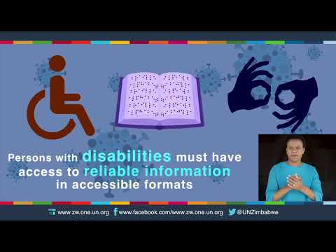 COVID19 Human Rights Compliance - Right of persons with disabilities