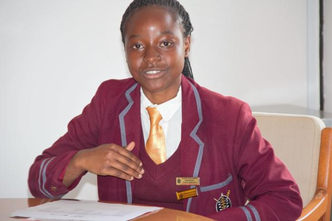 Minister of State of the Junior Parliament of Zimbabwe