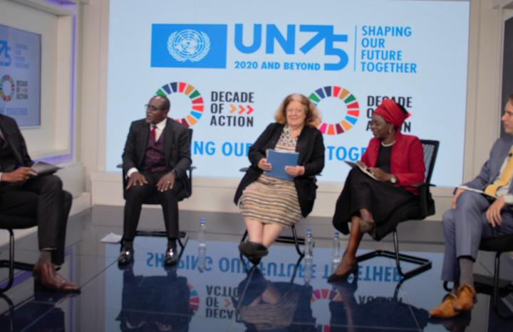 UN and Government media engagement on advancing international cooperation for SDGs and shaping the future